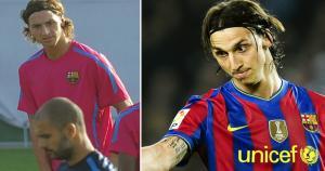 Josep Guardiola se quejaba de Zlatan Ibrahimovic, pero nunca se lo dijo en la cara. 'Ibra' lo llamó 'hombre sin pelotas'. (AP/Getty)