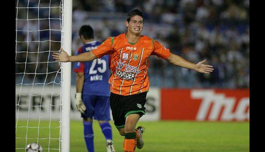 James Rodríguez debutó en el fútbol colombiano a los 14 años. Lo hizo en el Envigado, y ahora juega en el Real Madrid. (Difusión)