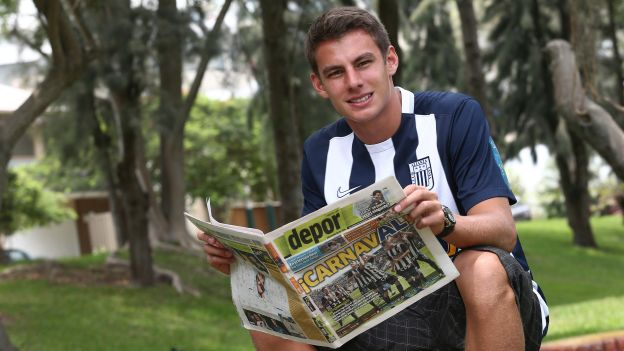 Juan Diego Li llegó a Alianza Lima luego de debutar como profesional el 2014 en Melgar. (USI/Jesús Mestas)