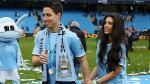 Manchester City: Samir Nasri y el 'deseo' de su novia ante el Barcelona