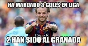 Barcelona ganó por 3-1 al Granada en el estadio Nuvo Los Carmenes. (Difusión)