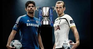 Diego Costa y Harry Kane son la imagen de la final de la Carling Cup. (AFP)