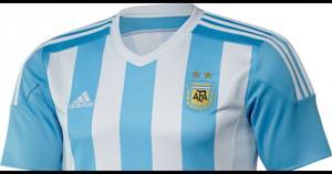 Aunque todas las camisetas no están confirmadas, ya se puede apreciar las que sí. Como la de Argentina, un verdadero lujo.(Adidas)