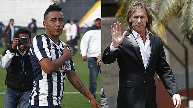 Christian Cueva disputa su segunda temporada en Alianza Lima. (USI/Jesús Mestas)