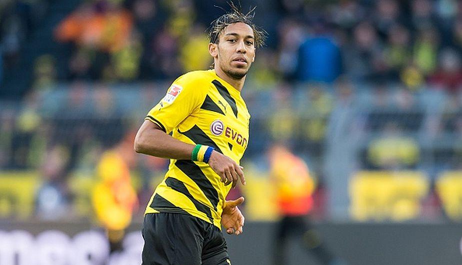 Pierre-Emerick Aubameyang es un delantero de ascendencia francesa y juega actualmente en Borussia Dortmund (Getty Images).