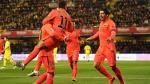 Barcelona ganó 3-1 al Villarreal y jugará final de la Copa del Rey ante Athletic de Bilbao