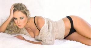 Vanessa Huppenkothen es una ex reina de belleza, periodista, conductora y modelo. (Difusión)