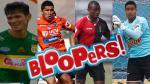 Torneo del Inca: los 'bloopers' que nos dejó la séptima fecha (VIDEOS) - Noticias de chasqui
