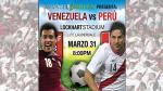 Selección Peruana: así promocionan el amistoso contra Venezuela en Miami - Noticias de afiches