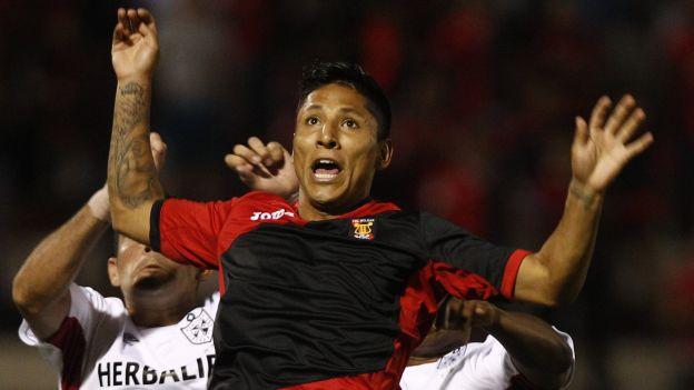 Raúl Ruidíaz anotó un gol con Melgar en el Torneo del Inca. (Mauricio Motta)