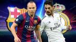 Andrés Iniesta vs. Isco: maestro y sucesor frente a frente en el clásico