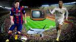 Barcelona vs Real Madrid: Clásico será transmitido en aviones a 30 mil pies de altura - Noticias de aerolínea peruana