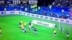 Raphael Varane imitó gol de Zinedine Zidane en la final del Mundial Francia 98