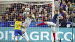 Karim Benzema: Jefferson se metió tapadón con una mano para salvar gol en la línea