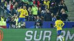 Neymar le anotó un golazo de zurda a Francia tras gran jugada de Willian