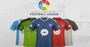 Así serían las camisetas de las redes sociales si fueras equipos de fútbol. Y tú ¿a cuál le vas? (Difusión)