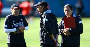 Ricardo Gareca realizó a los 8:30 am. su primer entrenamiento con la Selección en los EEUU.(Daniel Apuy)