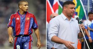 Ronaldo, uno de los mejores delanteros de la historia del fútbol, jugó en el Barcelona. Se retiró del fútbol en el 2011. (Getty)
