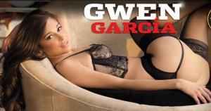 Gwen García sueña con tener sexo con un jugador del Barcelona. (Revista Hombre)