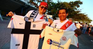 Cuando juega la Selección Peruana las rivalidades quedan de lado. (Daniel Apuy)