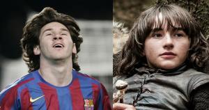 Lionel Messi - Bran Stark (Difusión)
