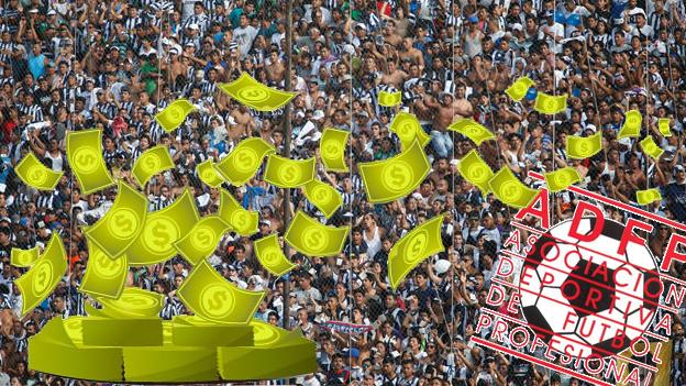 Organizar un partido en el fútbol peruano no es para nada rentable. (USI)