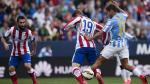 Atlético Madrid igualó 2-2 con Málaga por la Liga BBVA - Noticias de fernando barrera
