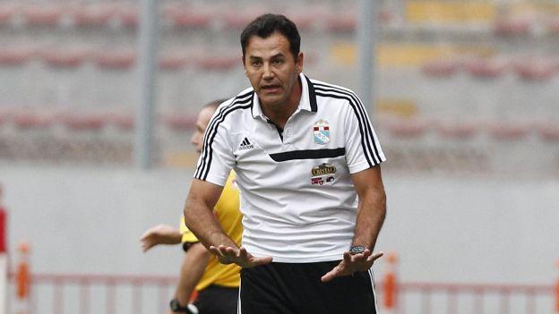 Daniel Ahmed solo ganó 2 partidos de Copa Libertadores con Sporting Cristal: uno el 2014 y uno este año. (USI/Mauricio Motta)