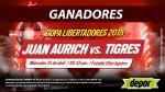 Juan Aurich vs. Tigres: estos son los ganadores de las entradas dobles - Noticias de elmer medina