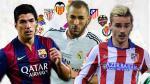 Liga BBVA: fecha, hora y canal de la jornada 32 del fútbol español - Noticias de tabla de posiciones fecha 43