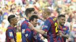Barcelona venció 2-0 a Valencia y sigue líder en la Liga BBVA (VIDEO) - Noticias de dani alvez