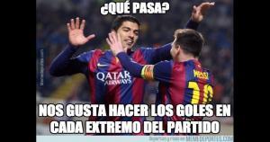 Luis Suárez y Lionel Messi le dieron la victoria a Barcelona en Liga BBVA. (Memedeportes)