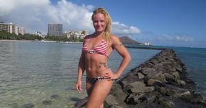 Valentina Shevchenko entrena en Hawái para el Legacy 42. (Facebook)