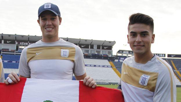 George Forsyth y Víctor Cedrón fueron compañeros en Alianza Lima y este domingo serán rivales. (USI)