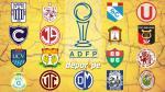 Torneo Apertura: hora, fecha, canal y árbitros de la primera fecha - Noticias de victor hugo espinoza