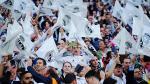Real Madrid vs. Atlético de Madrid: hincha usa camiseta de un equipo ¡y alienta al otro! - Noticias de cristian benavente