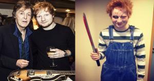 """Ed Sheeran confirmó su llegada a nuestro país con un mensaje en su cuenta de Twitter. """"Hello Perú!"""", fue lo que escribió el cantautor inglés, al bordear las 4 pm. del último lunes.  (@teddysphotos)"""