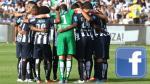 Facebook: Alianza Lima a nivel de Universitario de Deportes y FPF - Noticias de fpf