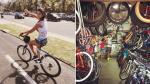 Alondra García Miró y Paolo Guerrero se vacilan en bicicleta - Noticias de paolo guerrero
