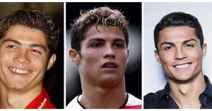Cristiano Ronaldo y su cambio radical. (Getty Images)