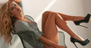 Katheryn Winnick es una bella canadiense de raíces ucranianas. (Difusión)