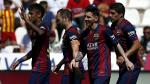 Barcelona ganó y goleó 8-0 al Córdoba para seguir líder en la Liga BBVA (VIDEO) - Noticias de afp horizonte