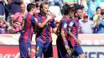 Barcelona: Ivan Rakitic y la emoción de su hija por su golazo (FOTOS) - Noticias de esposa de messi