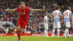 Liverpool, con gol de Steven Gerrard, ganó 2-1 a Queens Park Rangers - Noticias de capitán phillips