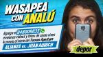 Alianza Lima vs. Juan Aurich: wasapea con Analú sobre este partidazo - Noticias de wilmer córdova