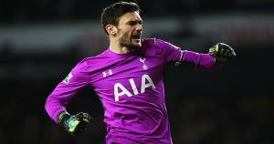 Hugo Lloris, protero del Tottenham. (Getty Images)