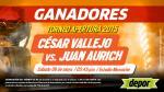 César Vallejo vs. Juan Aurich: estos son los ganadores de las entradas dobles - Noticias de kevin varas rodriguez