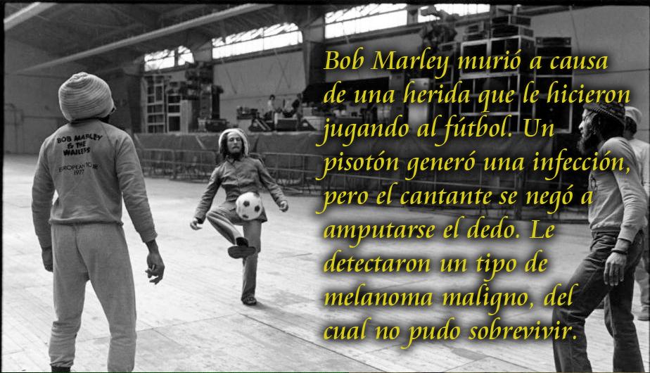 Bob Marley Y Las Mejores Frases De Su Amor Por El Fútbol Fotos