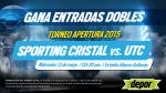 Sporting Cristal vs. UTC: Depor te regala 5 entradas dobles - Noticias de sporting cristal vs utc