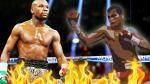 Floyd Mayweather y el boxeador que lo retó para una nueva pelea